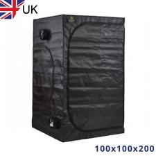 100x100x200 Premium Grow Tent Indoor Bud Box Hydroponics Dark Room LIGHT MYLAR