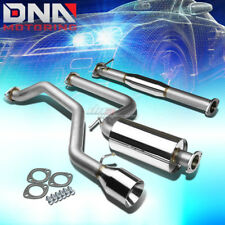 """4.5"""" ROLLED TIP STAINLESS STEEL EXHAUST CATBACK SYSTEM FOR 00-04 FOCUS ZX3/ZX5"""