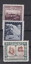Liechtenstein Nr. B 104, 105, 107  B * (ca. 345 Michel)