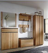 Garderobe Massivholz inkl Schuhschrank Spiegel Kleiderschrank Sitzbank Kernbuche