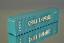"herpa 40' Highcube Container ""China Shipping"" CCLU 7254122"