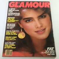 VTG Glamour Magazine: January 1982 - Brooke Shields Cover No Label/Newsstand