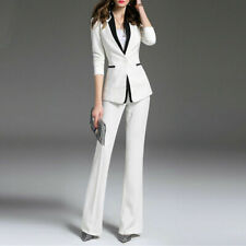 Women's suit 3/4 Sleeve Business Casual Professional Wear Slim Suit Custom Made