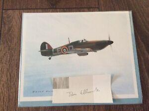 Brian Knight 'Hawker Hurricane MKIIA' Card With Signature