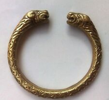 Designer Heavy Brass Bracelet Cuff Kada Kadaa Kara - Men Women Fashion Classy
