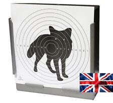 100 - 170gsm Card Air Rifle Fox Targets 14cm ( Pistol shooting airsoft gun