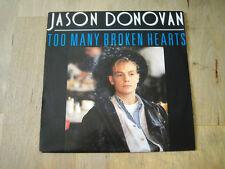 45 tours jason donovan too many broken hearts