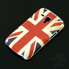Samsung Galaxy S Duos s7562 Hard Case Protective Case Pouch Cover UK England Vintage