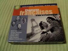 """COFFRET 2 CD """"CHANSONS FRANCAISES D'HIER ET D'AUJOURD'HUI"""" C. Jerome Frank ALAMO"""