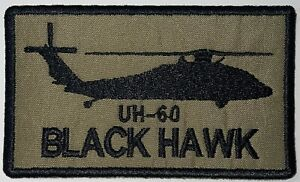 UH-60 Black Hawk Patch Hook& Sew-On Repro New A442