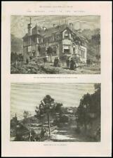 1887-FRANCE Cannes Royalty Queen Victoria Villa EDELWEISS (109)