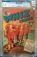 Whiz Comics #29 (1942) CGC 7.0 -- O/w to white; C.C. Beck cover; Otto Binder