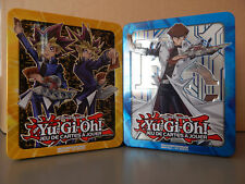 Lot 2 boites rangement Yu-Gi-Oh! Yugi Muto & Yami Yugi Seto Kaiba Tin Box vides