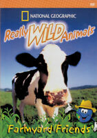 Really Wild Animals: Farmyard Friends (Nationa New DVD