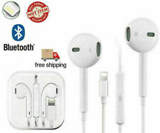 Wired Bluetooth Earphones Headphones For iPhone 11 Pro XR X XS Max 8 7 6 Plus SE