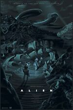 Alien (Variant) - Mondo Style Poster by Laurent Durieux - Edition of 225