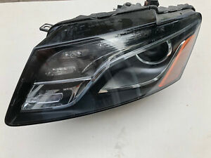 09 10 11 12 AUDI Q5 LEFT XENON HEADLIGHT 8R0941003AH 8R0-941-029-AH