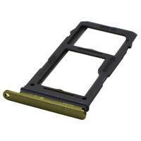 SIM SD Card Tray Holder For Samsung Galaxy S10E Replacement Slot Yellow UK