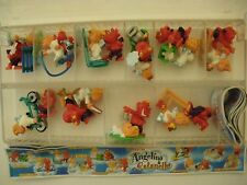 Angelino & Satanello  Kinder sorpresa dipinti a mano 10 personaggi  (MQX)