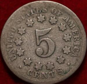 1869 Philadelphia Mint Shield Nickel