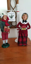 Vintage Byers Choice Limited Edition Cape Cod Cranberry Couple