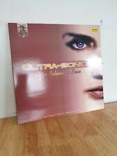 Ultra Sonic Do You Believe In Love 12 Inch Vinyl Dance Record