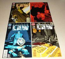 Batman - Gordon's Law #1 #2 #3 #4 complete mini DC Comics 1996 - lot of 4 comics