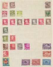 (U47-53) 1915-60 Denmark mix of 27stamps (BC)