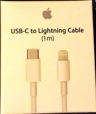 New Genuine OEM Apple Lightning to USB C Cable 3' - 1m MK0X2AM/A
