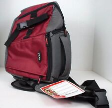 Dolica SB-015RD Sling Backpack for DSLR, (Red/Gray)