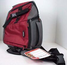 Dolica SB-015RD Sling Backpack for DSLR, (Red/Gray)