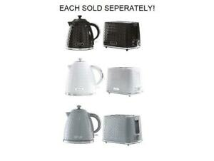Kettle And Toaster Daewoo Argyle Collection Single
