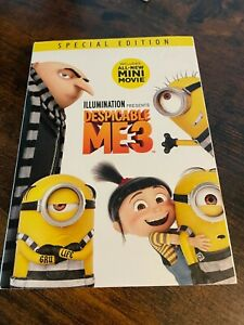 Despicable Me 3 DVD NEW SEALED