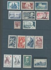 France selection of mnh stamps and sets with back of book