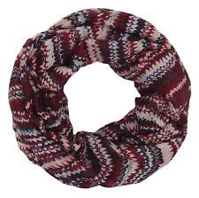 Tubo Rojo Negro Blanco Rosa de Ella Jonte Pañuelo mujer bufanda Roja Viscosa
