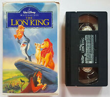 1994 The Lion King ANIMATED MOVIE (VHS, 1995, Masterpiece Collection)