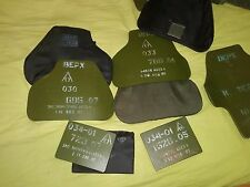 bulletproof plates for russian bulletproof vest, 6b23 LEVEL 5 GOST NOT REPLICA!