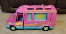 Barbie 1988 Western Fun Camper Pink No Box Incomplete - USED