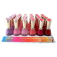 SAFFRON LONDON CANDY COLOURS NAIL POLISH TRAY 3 { SET OF 6 }