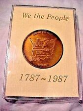 COIN - WE THE PEOPLE 1787-1987 200  ANNIVERSARY COMMEMORATIVE IN PROTECTIVE CASE
