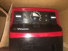Vitamix Blender VM103 W/ Book New Items Culinary Institute Of America Red Great