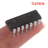 10PCS TL074CN new in-line DIP-14 four operational amplifierP WqMWUS