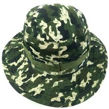 Woodland Camo Military Boonie Hunting Fishing Bucket Jungle Cap Hat Size Small
