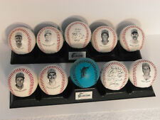 1993-94 MARLINS CHEVRON FOTOBALL 2 SET OF 5(10) BASEBALLS Each With 2 Stands