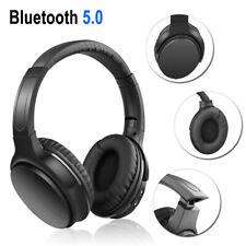 Wireless Bluetooth 5.0 Headphones Over-Ear Super Bass Earphones For Sony Samsung