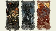 Lord of the Rings Trilogy by Aaron Horkey - Mondo Screen Movie Print Poster Lotr