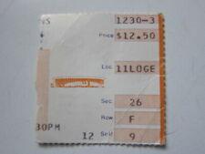 Cheap Trick concert ticket 1980