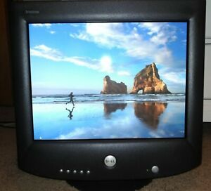 "Dell Ultrascan Trinitron P992 19"" vintage CRT monitor"