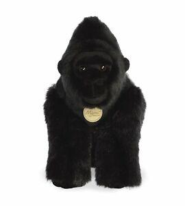 """AURORA MIYONI PLUSH 13"""" SILVERBACK GORILLA 80431 CUDDLY SOFT TOY TEDDY BEAR KONG"""