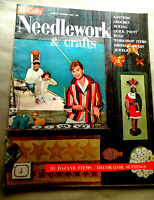 Vtg 1960 NEEDLEWORK & Crafts McCall's MAGAZINE, Bazaar Items, Decorator Settings